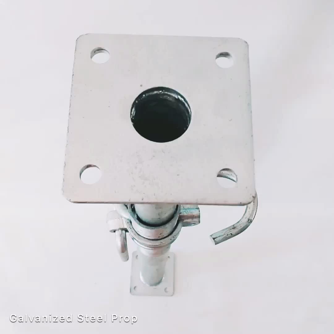 German Standard Steel Adjustable Scaffolding Floor Prop 5.50 Meters