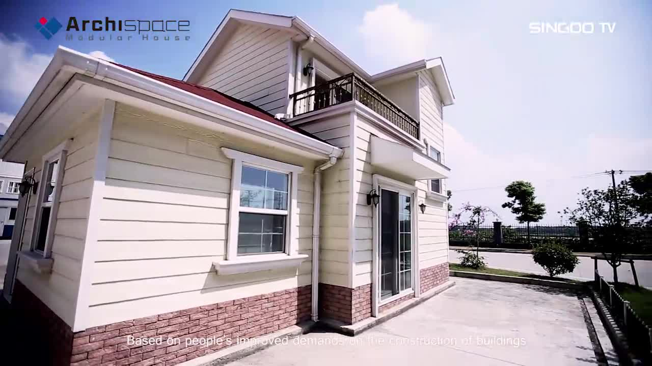 New product 2017 affordable prefab house manufactured in China