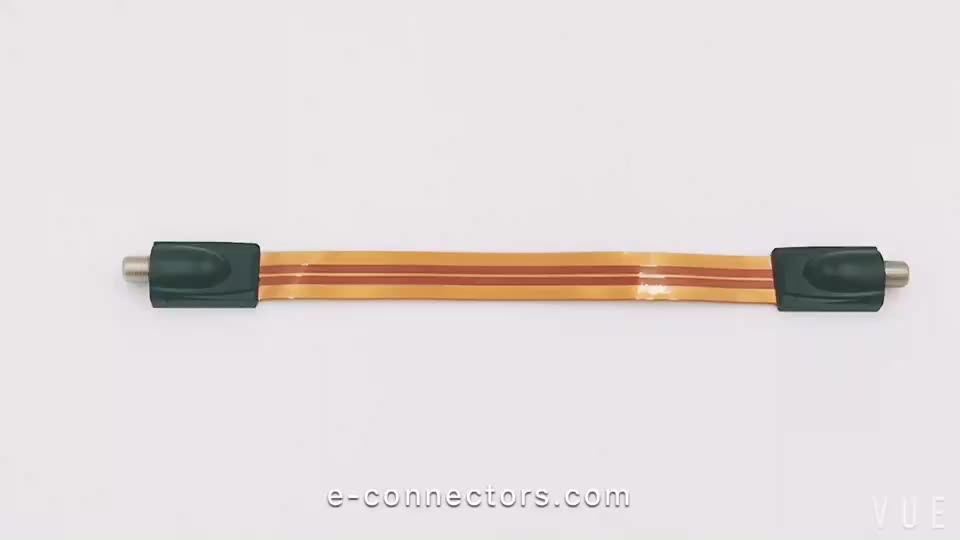 High quality F plug flat cable under door & window with cheap price