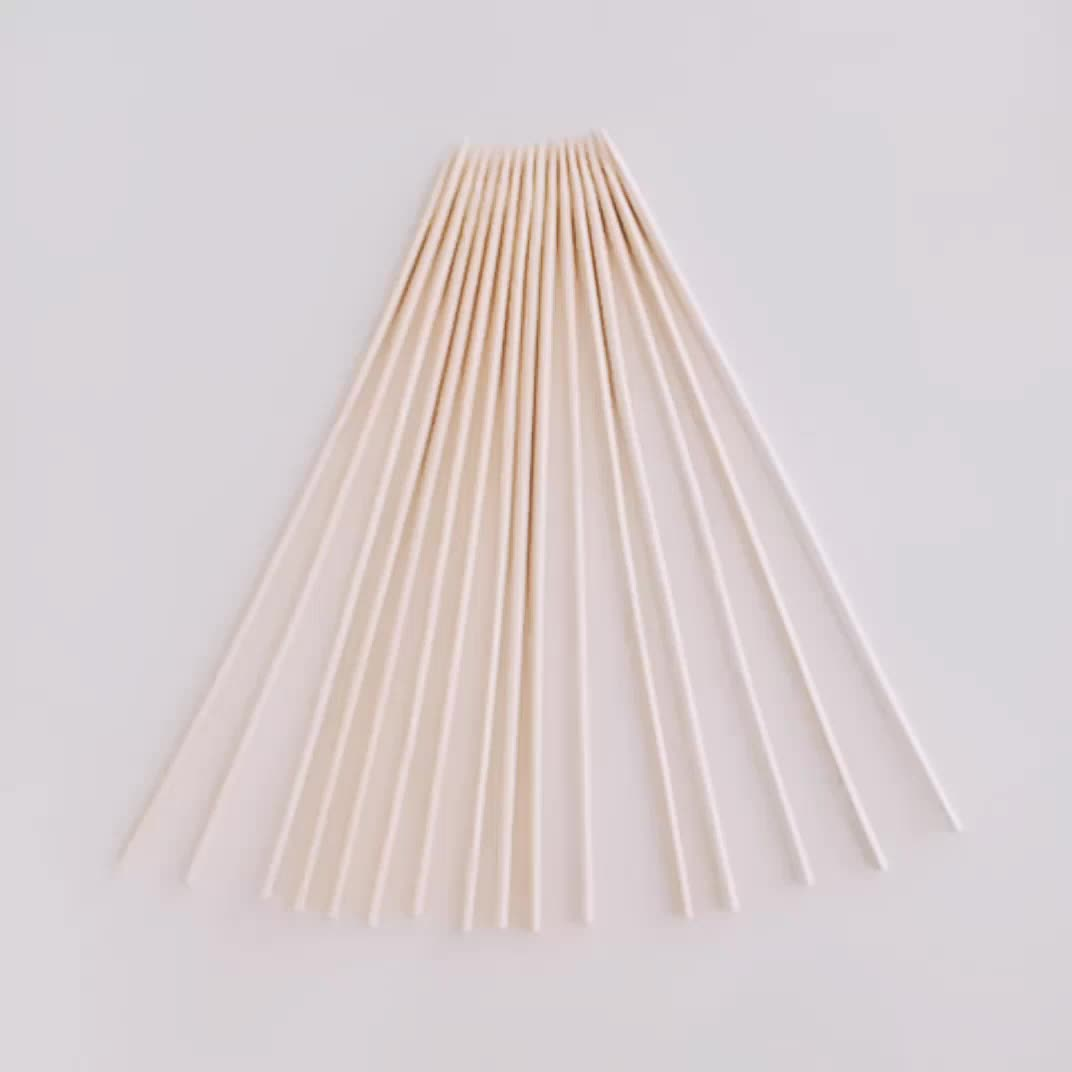 Wholesale direct factory custom bamboo skewer with logo