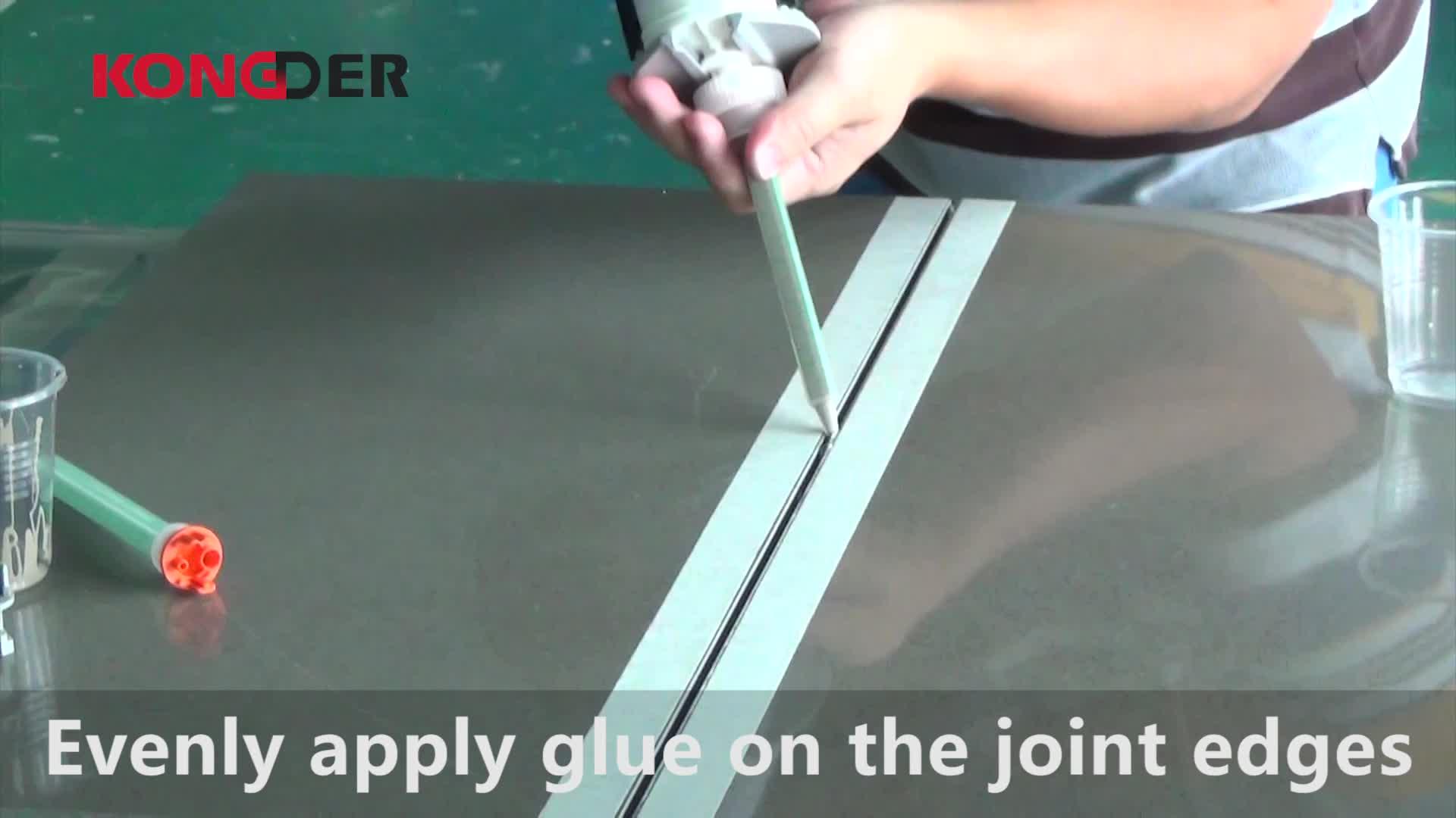 Goedkope prijs naadloze bonding steen lijmen leveranciers voor effen oppervlak/quartz steen/Procelain