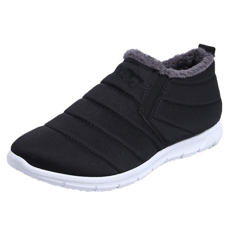 冬季新款老北京棉布鞋一脚蹬保暖鞋