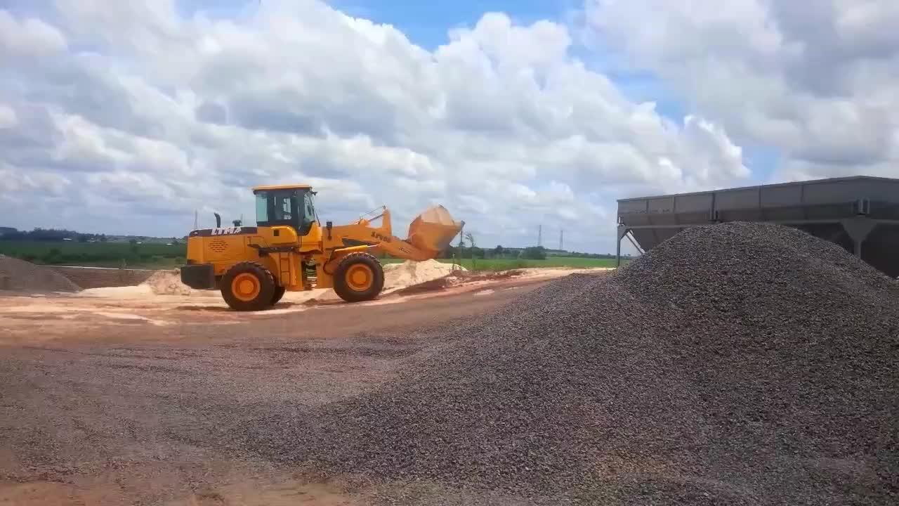 China de equipos de construcción 3 ton 932 936 cargadora de ruedas