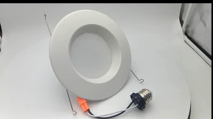 America Market LED Ceiling Lighting 13w 6 inch LED Retrofit Recessed Downlight