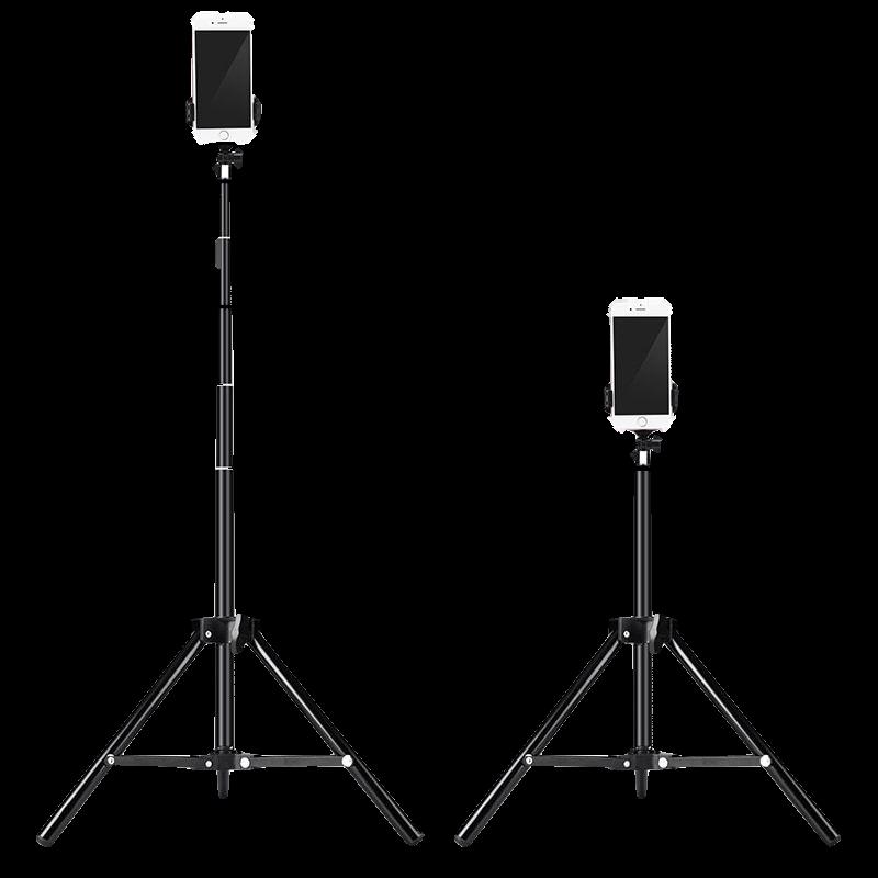 手机直播支架自拍补光灯网红主播拍照三脚架美颜设备全套桌面神器