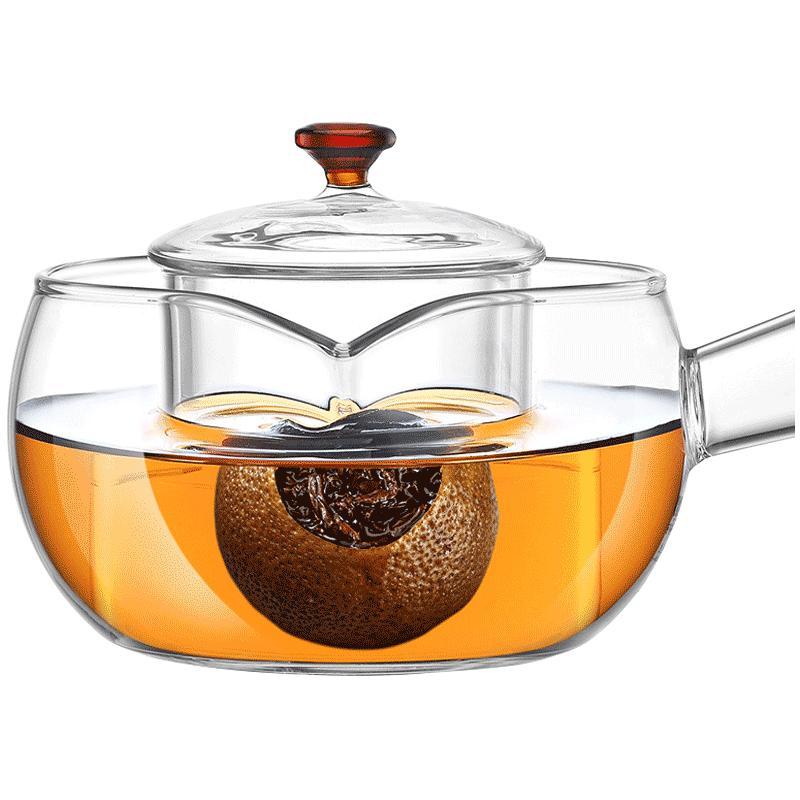 电陶炉玻璃煮茶壶功夫茶具套装水壶使用评测分享