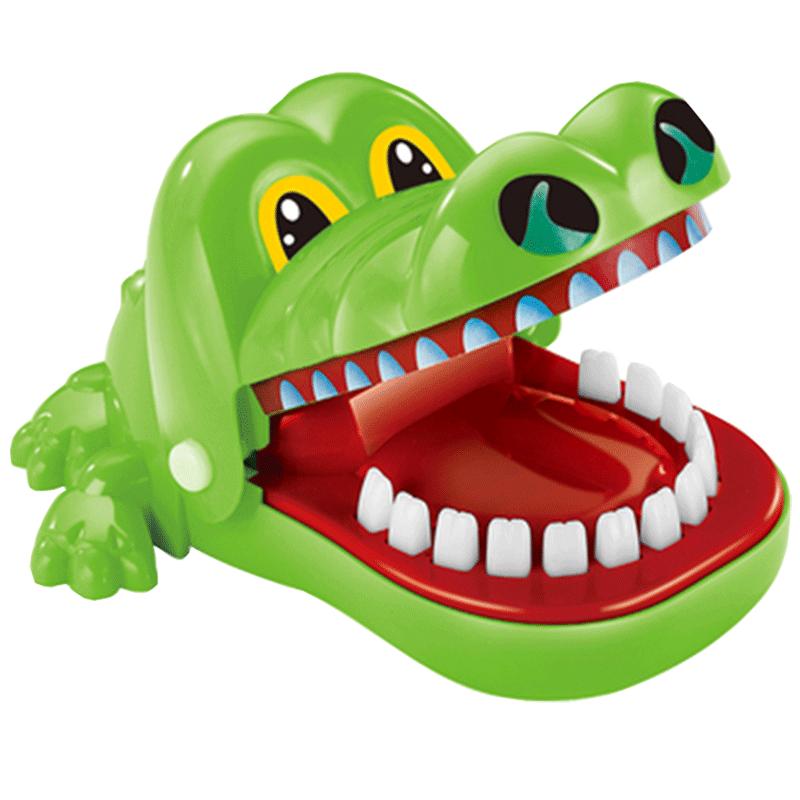 鲨鱼鳄鱼咬手指玩具