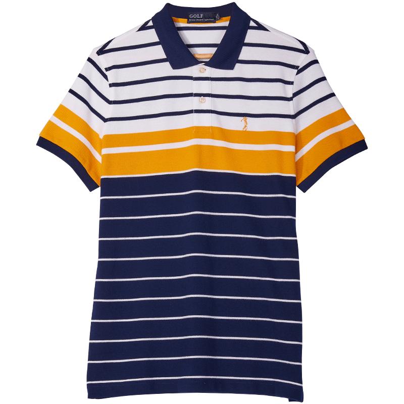 高尔夫夏季新品短袖海魂POLO衫