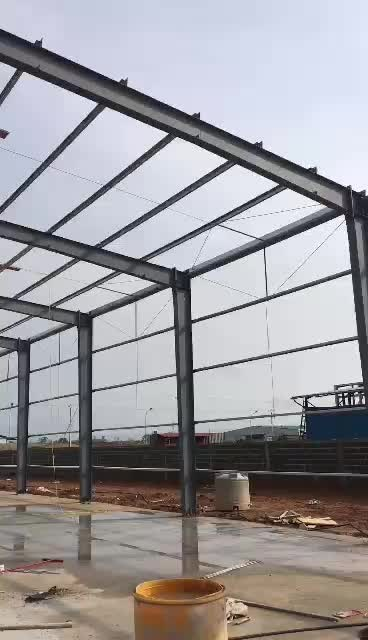 New Type Beautiful Prefabricated Light Steel Frame House - Buy ...