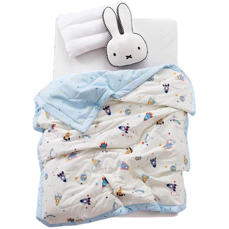 纯棉宝宝幼儿园午睡单人夏季薄被子好用吗