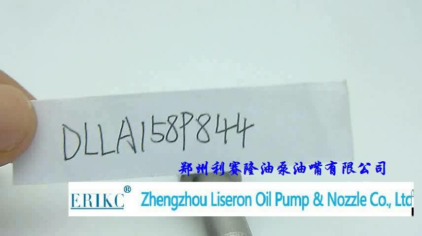 ERIKC DLLA 158 P 844 truck common rail nozzle 093400-8440 oil injector nozzle DLLA158P844 for Isuzu