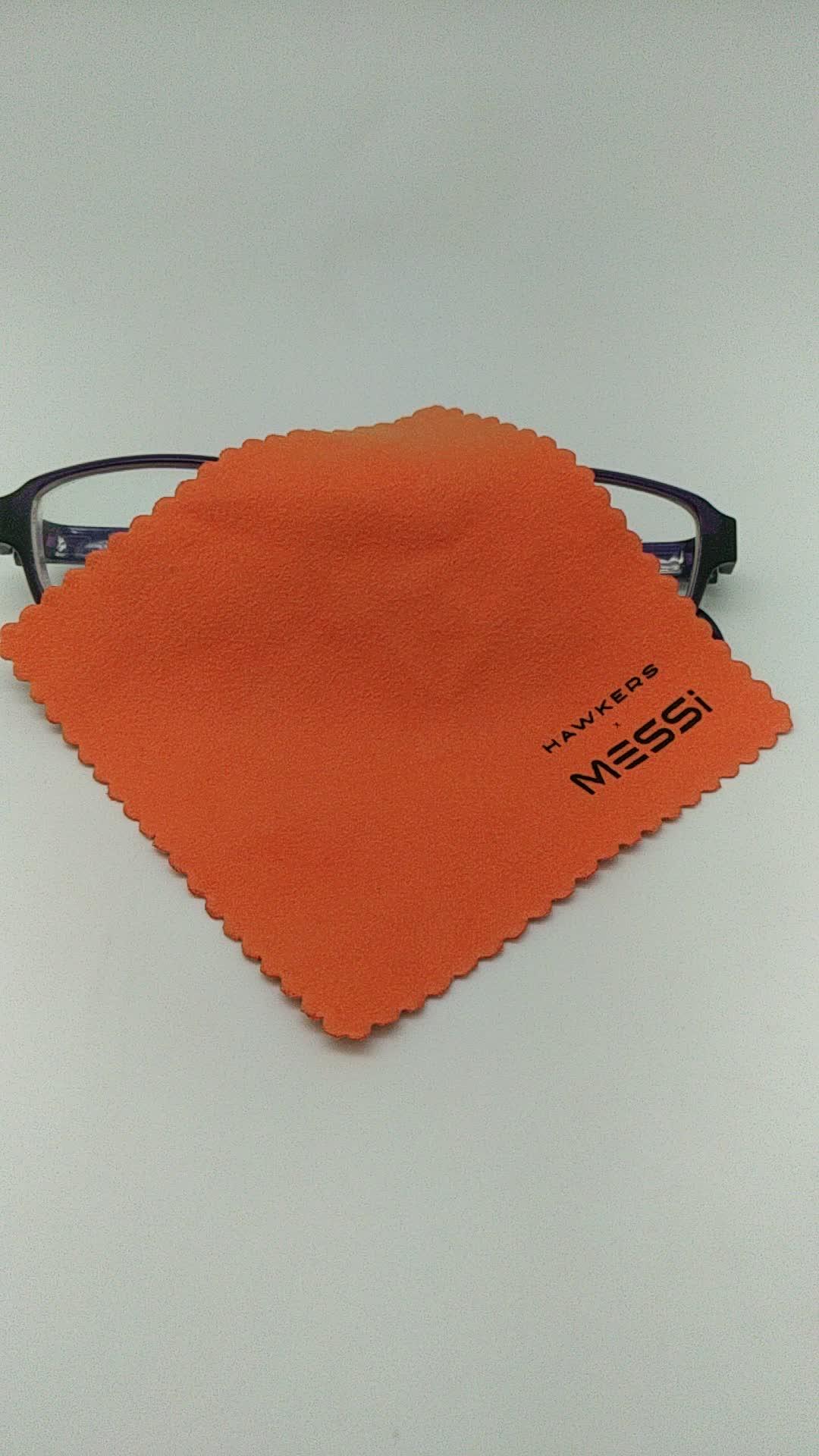 Panno d'argento di lucidatura singapore, soluzione di pulizia delle lenti per occhiali, vetri delle finestre di pulizia in microfibra salviette