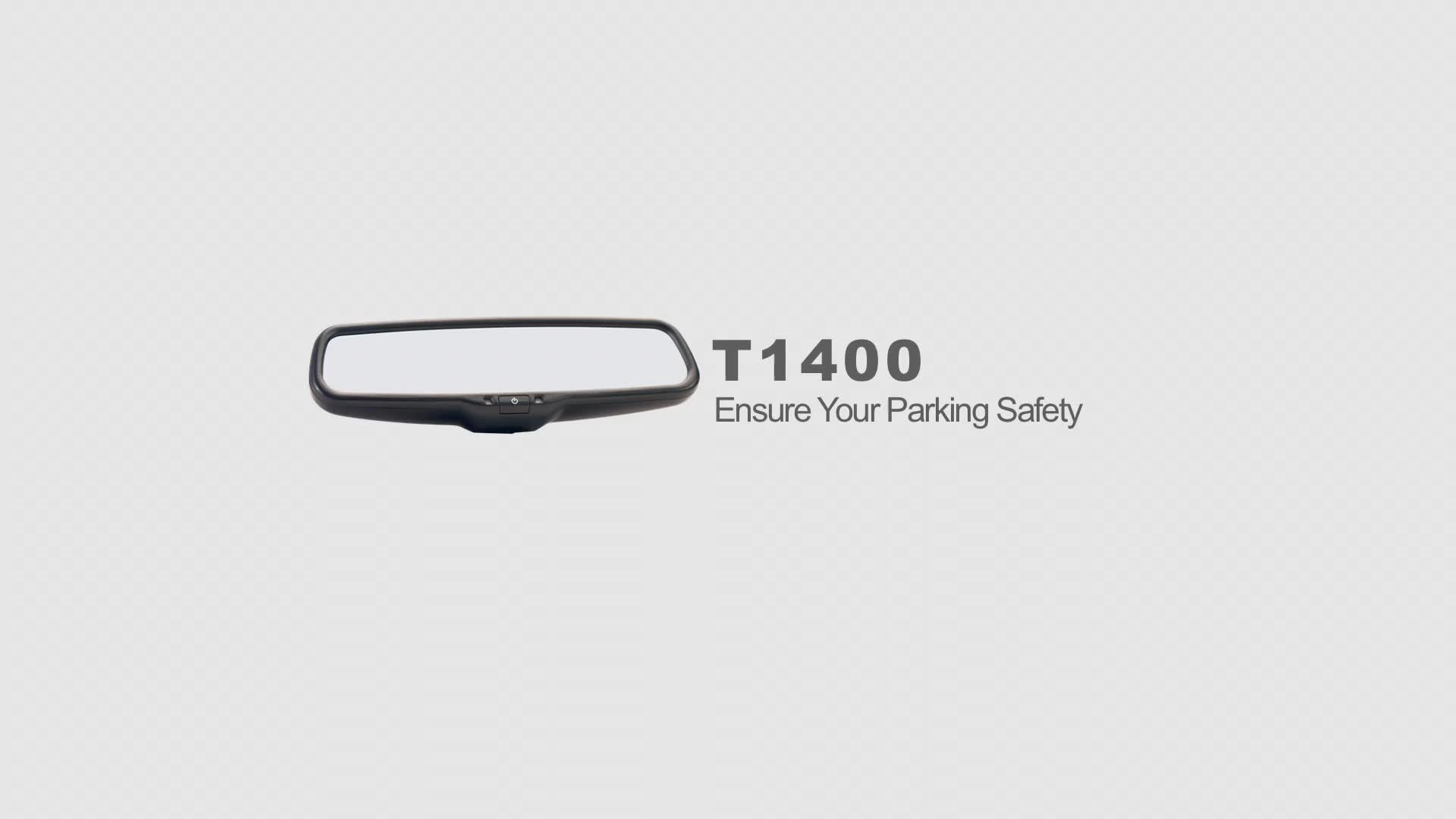 Auto-adjust brightness car rear view monitor