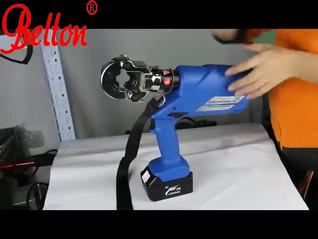 portable electric hydraulic battery crimping tool electric pump hydraulic crimping tool