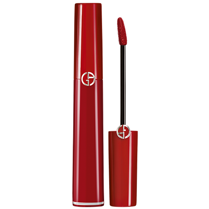 Armani/阿玛尼红管唇釉丝绒哑光口红番茄色405/206/205红棕色
