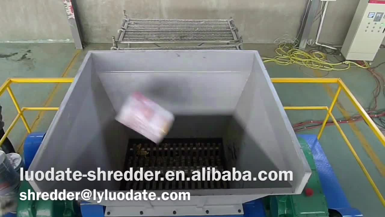 Recycling Hard Drive Shredder Scrap Metal Blades Printed Circuit Board Equipment From Professional