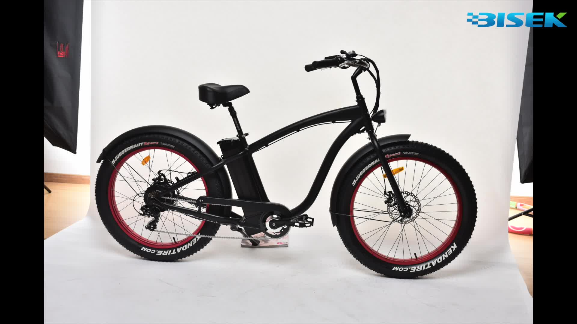 hot sale beach cruiser electric bike with bafang 8fun motor