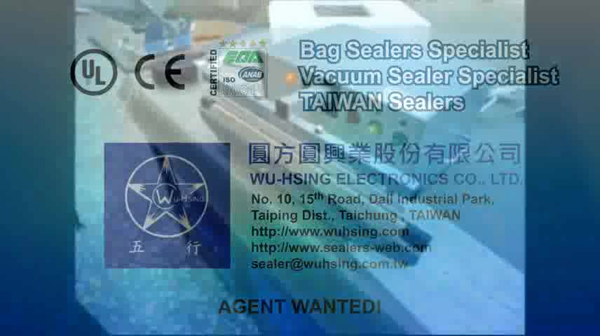 Hergestellt in Taiwan Automatic Impulse Sealer