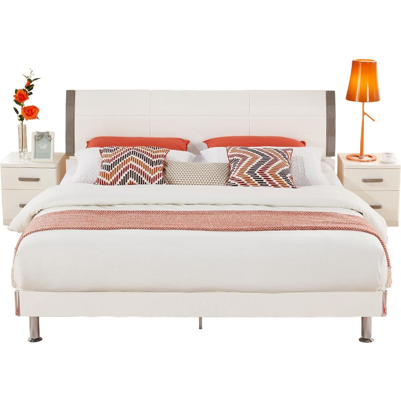 全友家居现代简约1.5米组合双人床好用吗