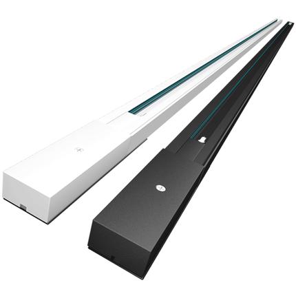 射灯轨道条1m2米导轨条led节能灯