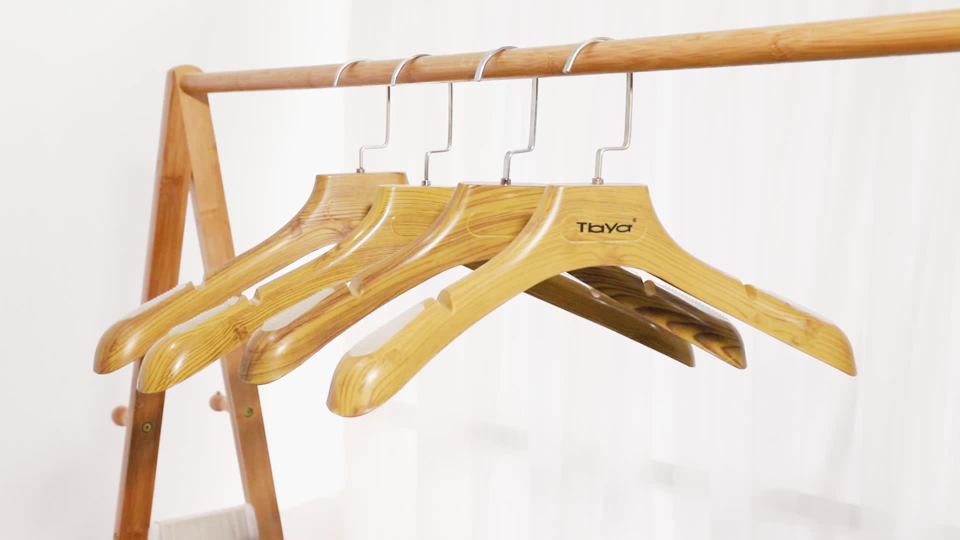 Wholesale Wood Hangers For Clothes Wooden Clothes Coat ...
