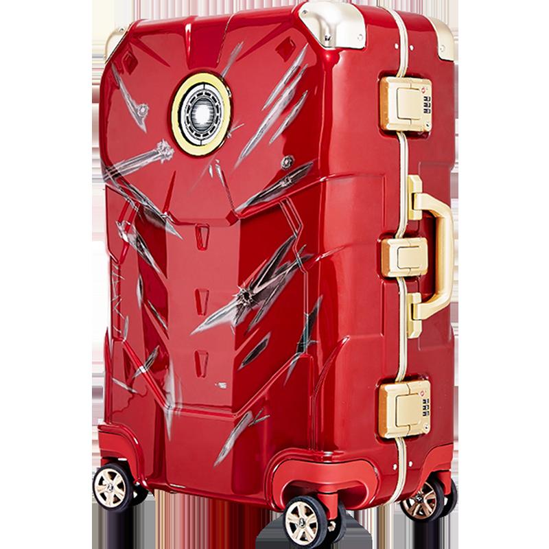 漫威钢铁侠旅行箱潮流时尚行李箱
