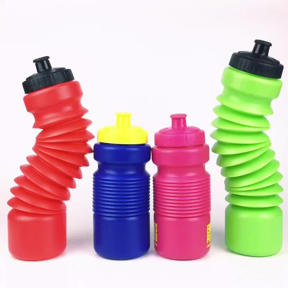 2017 патент новый продукт Складная 2.2L Половина галлонов бутылка для воды