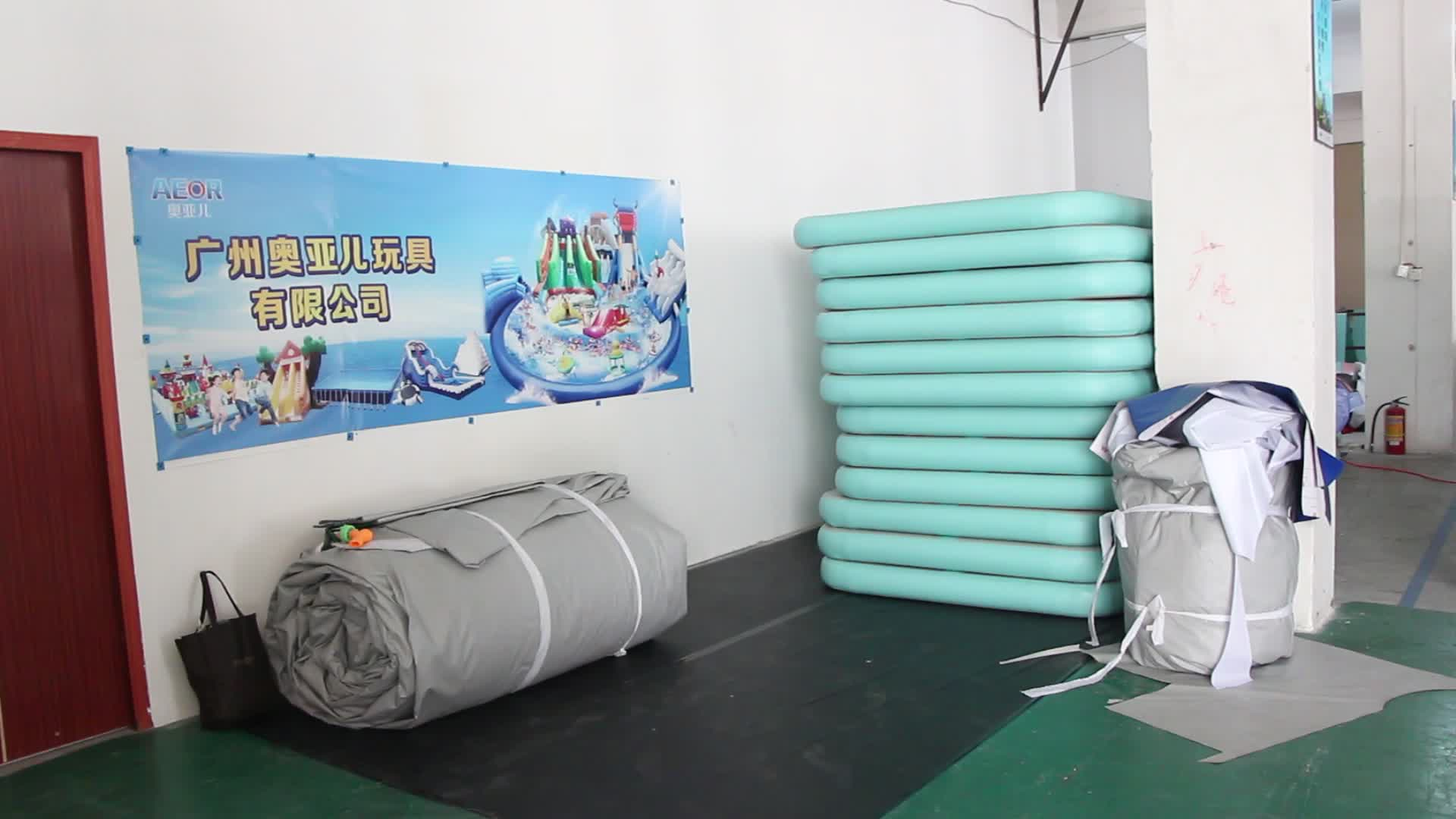 Inflatable gymnastic mats,inflatable air track, air floor for sale