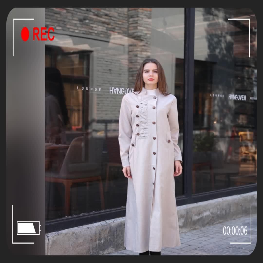 2018 new coats product fashion Long sleeve ladies clothing