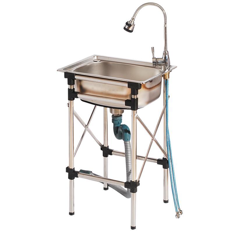 厨房不锈钢简易带支架家用洗菜盆评价好不好