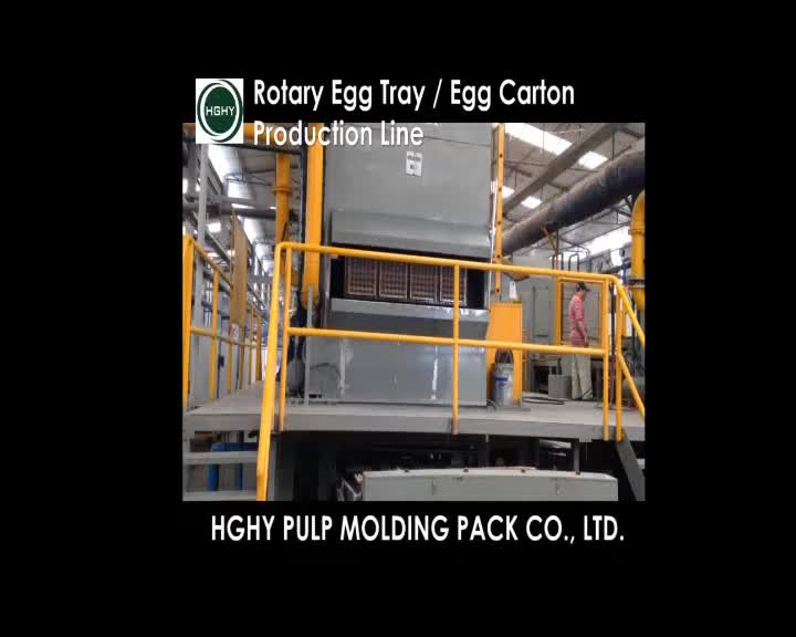 Auto reciprocating egg tray machine waste paper egg tray machine