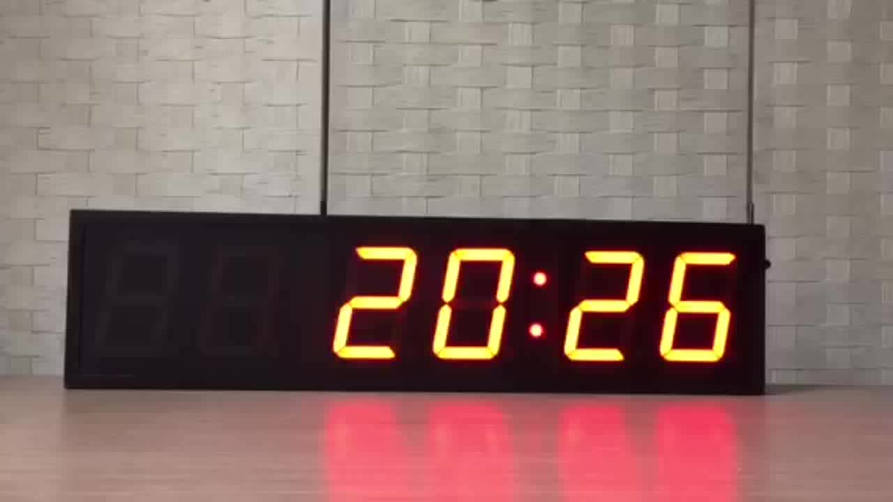 USA 6 Digit Logo Printing Stand Interval Fitness Timer for Tabata Training
