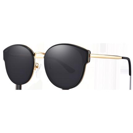 FILA2019新款太阳镜女防紫外线近视墨镜圆脸眼镜女韩版潮偏光镜潮