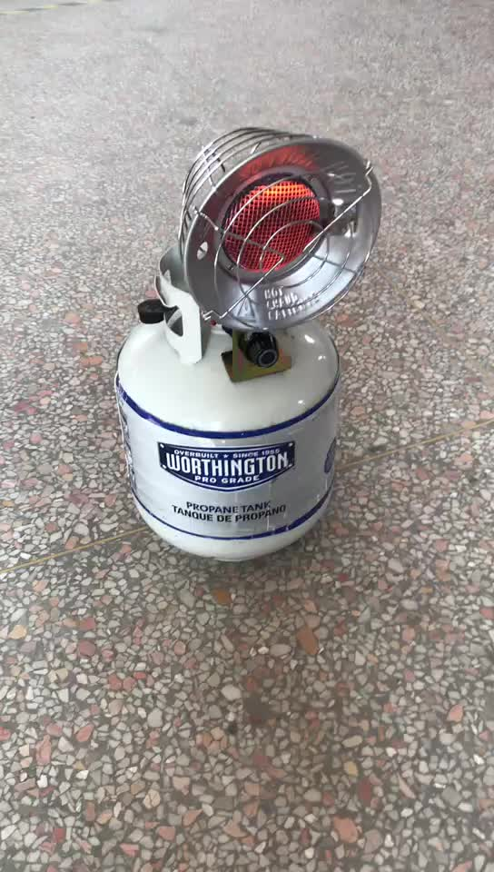 Outdoor Propane Heating Equipment Anti-top Device 30000BTU Gas Air Heater