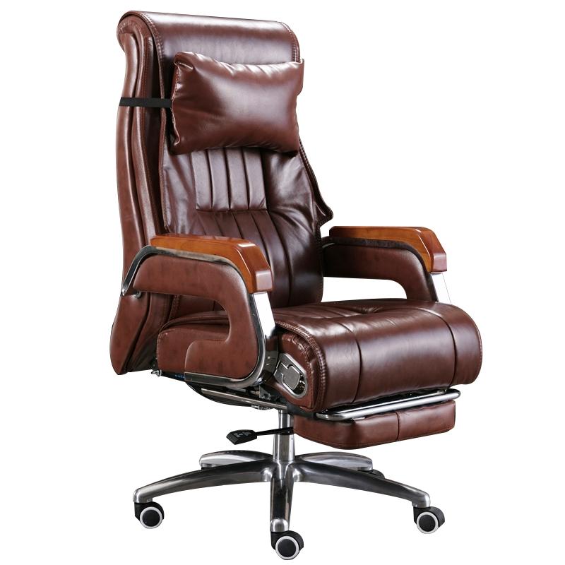 真皮可躺按摩商务舒适久坐老板椅怎么样