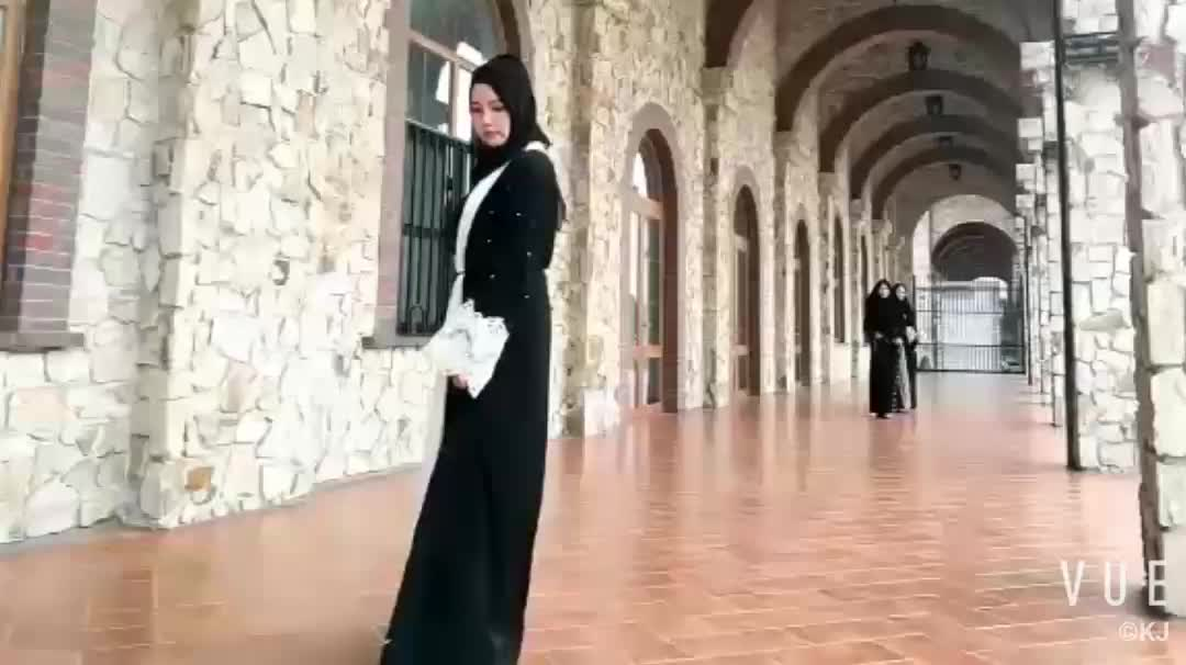 Top quality 2018 latest design model muslim front open dubai abaya kimono with beading
