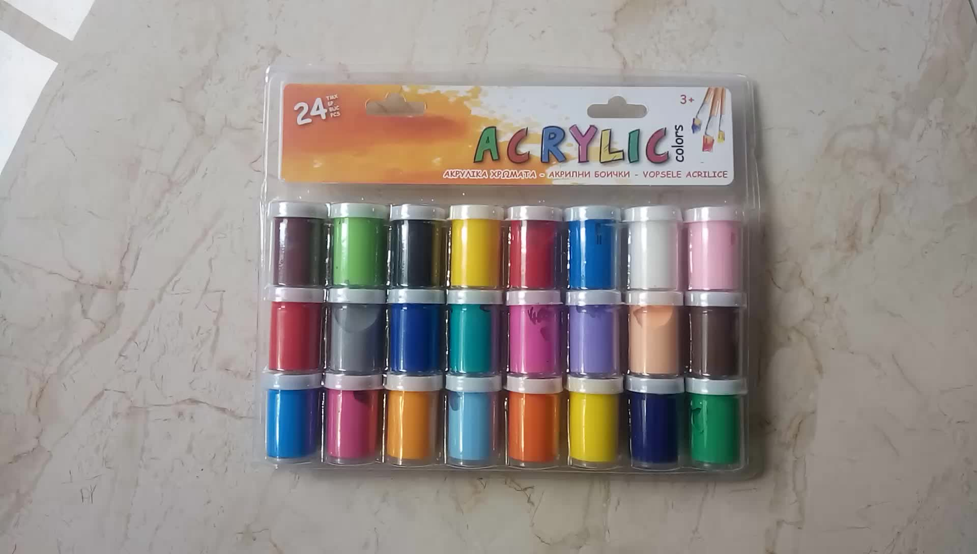Wholesale non toxic 3d diy 20ml accent country colors for Acrylic paint in bulk