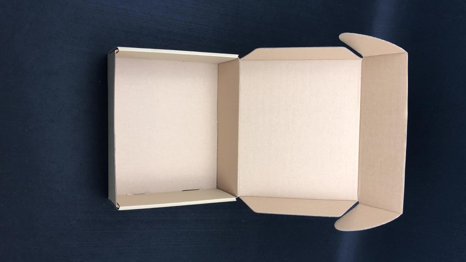 Wholesale Printed Logo Folding White Custom Mailing Cardboard Corrugated Box