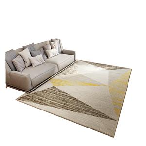 北欧ins客厅地毯家用茶几毯轻奢风卧室床边地垫现代简约地毯定制