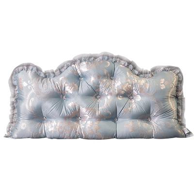 欧式床头靠垫大靠背垫双人三角榻榻米板包床上公主长靠枕腰枕抱枕