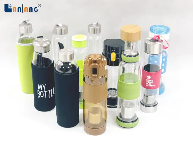 New Alkaline Water Bottle to Generate Rich Hydrogen Water