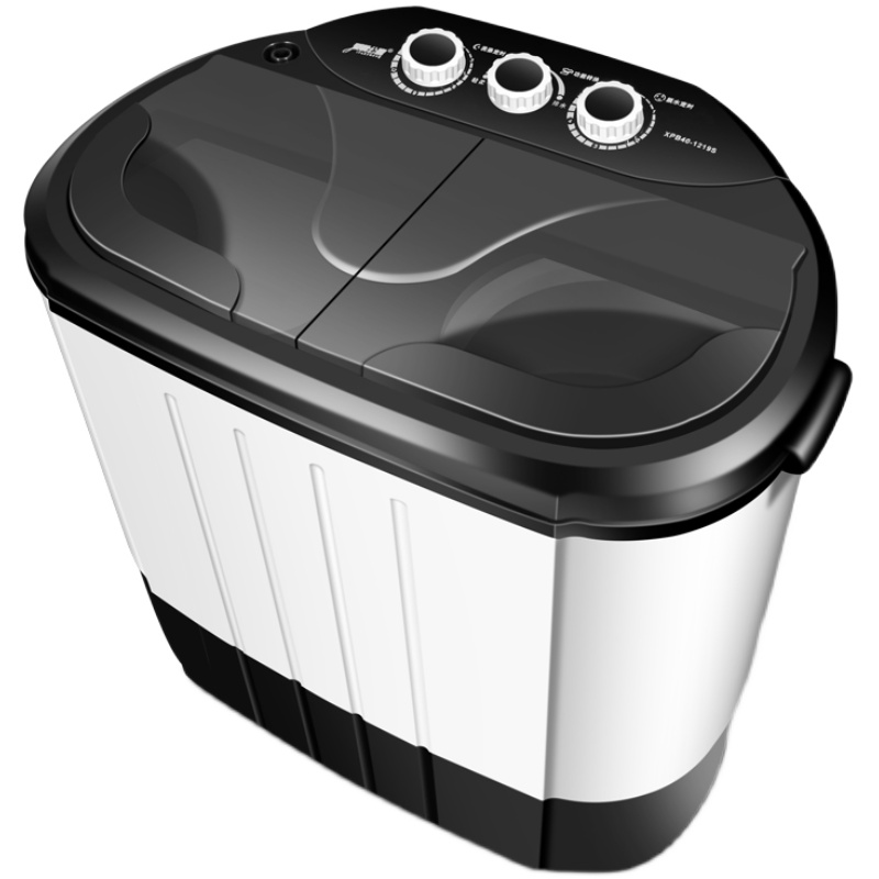 4kg大容量迷你小型双桶家用洗衣机评价好不好?