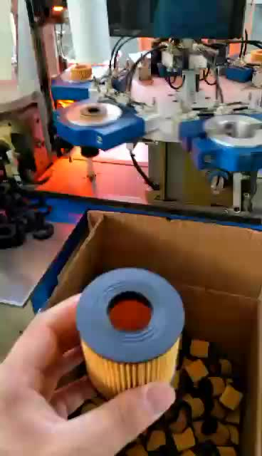 Automatic Filter Plastic Caps Welding Machine For Making Eco Oil Filters