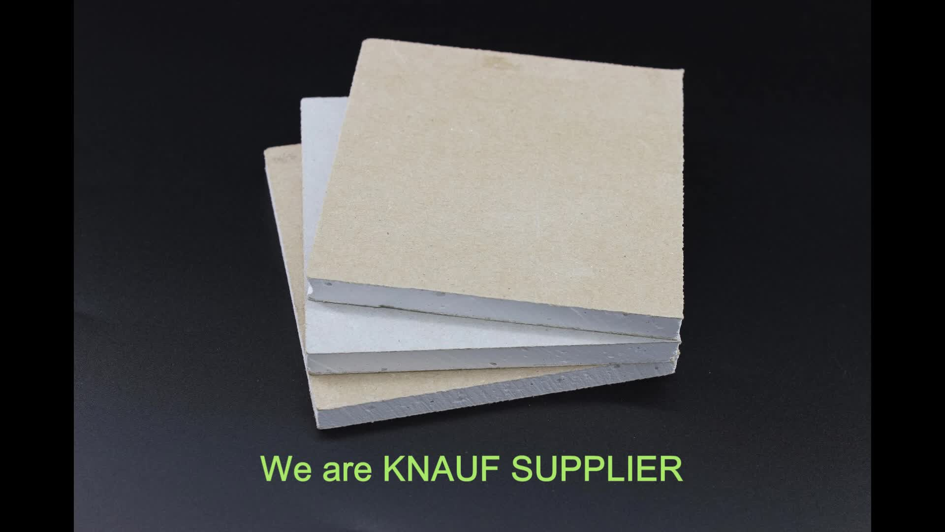 CE AND ISO Approved Gypsum Board