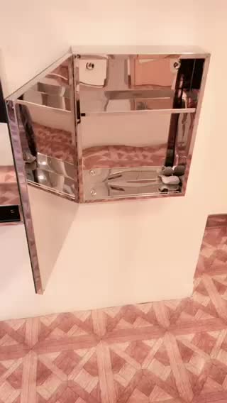 Cheap and small waterproof bathroom wall cabinet with high for Waterproof bathroom cabinets