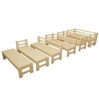 包邮床架加宽床加长实木床松木床架单人床儿童双人床拼接床可定做