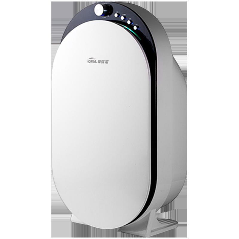 摩瑞尔空气净化器家用除甲醛雾霾卧室办公除二手烟灰尘负离子氧吧