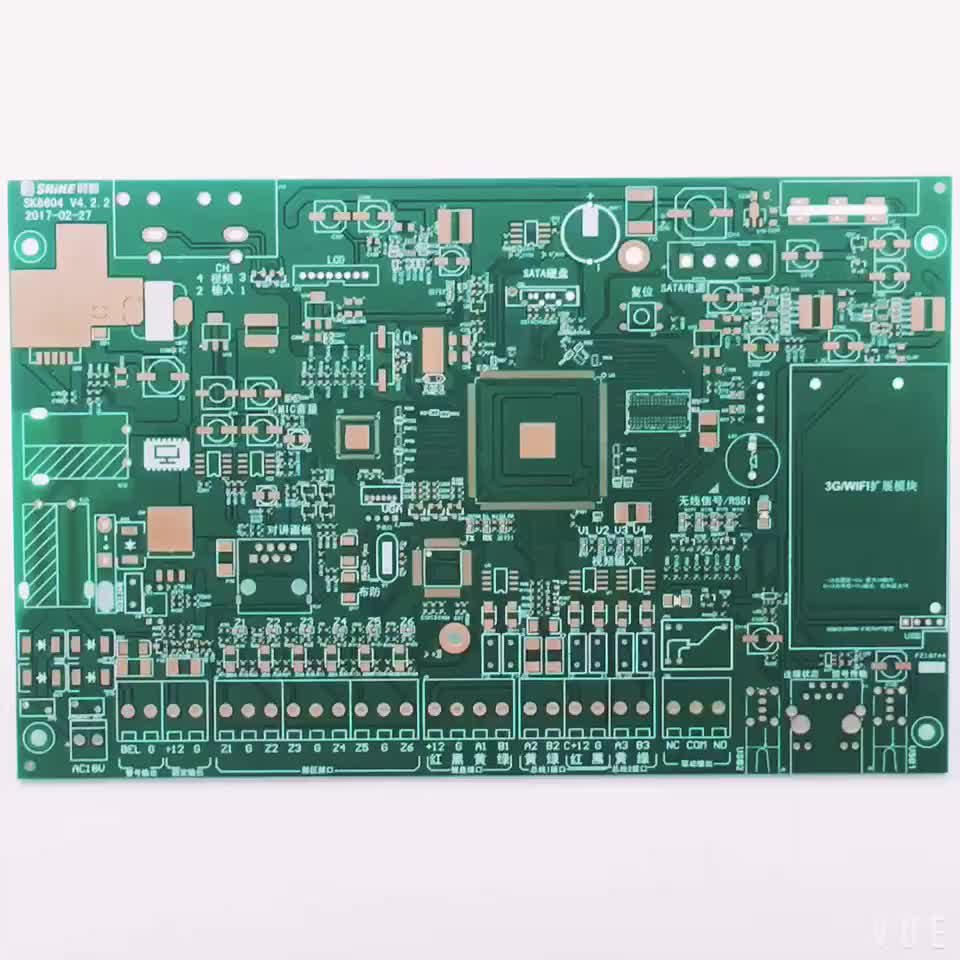 High Density 100 Tested Inverter Circuit Boardimmersion Gold Switch Pcbpcb Boardpcb Board Manufacturing Product Immersion Silver Tin