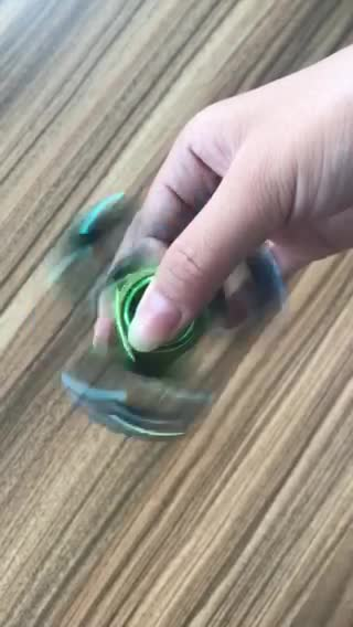 Top selling colorful hand spinner 3D printed funny stress relief fidget spinner toy