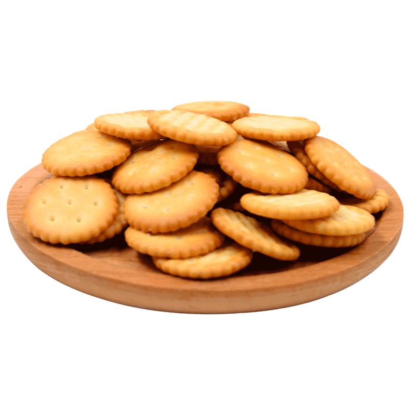 豫吉小奇福饼干368g散装雪花酥原料代餐零食小饼干批发雪花酥专用